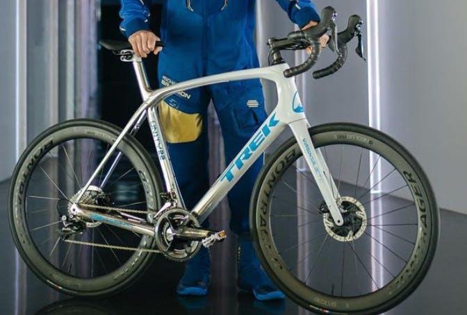 What do you think of Richard Bransons custom Trek bike?