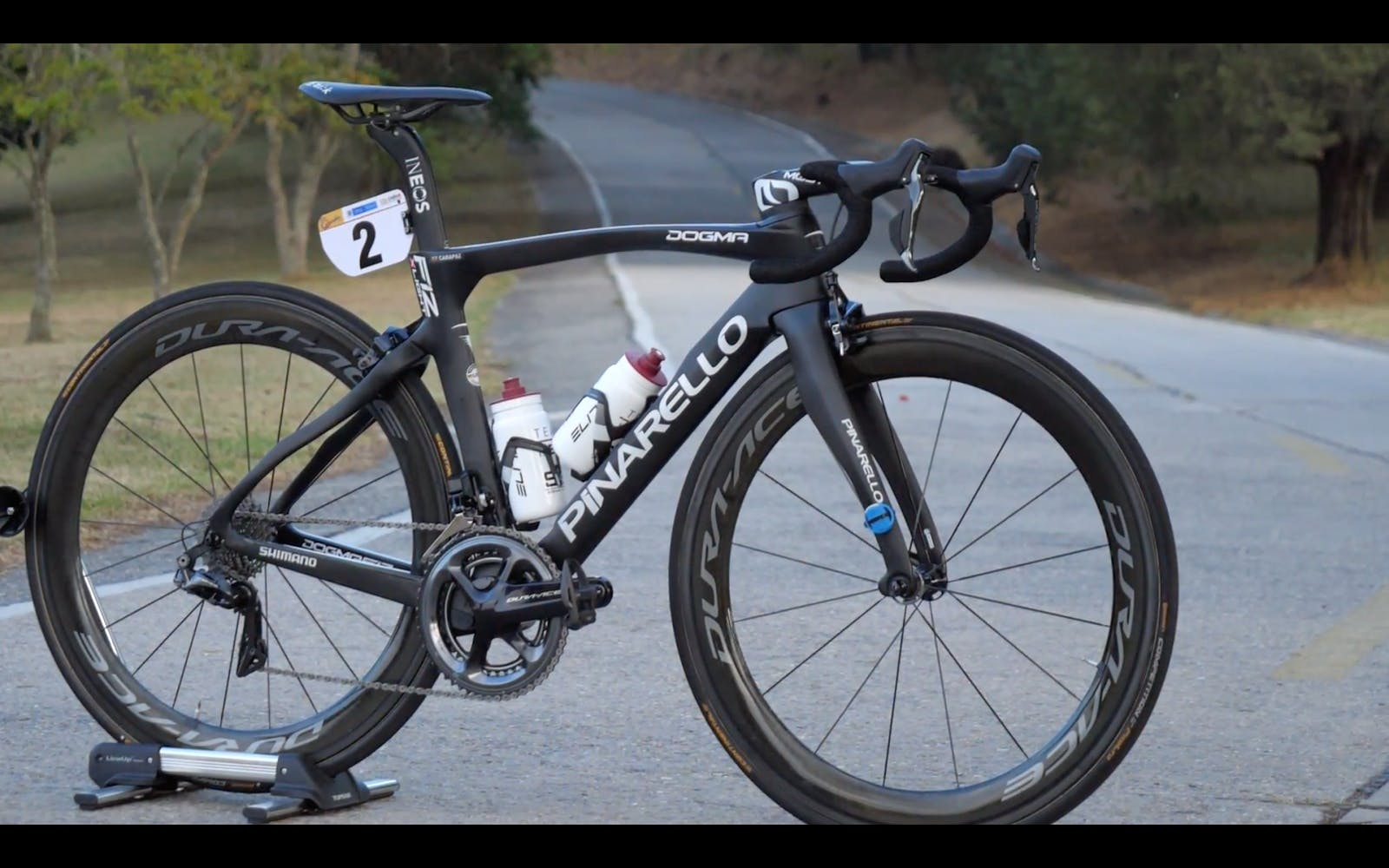 Richard Carapaz's Pro Bike
